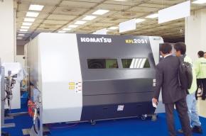 コマツ産機、新レーザー加工機販売開始 切断速度が世界最高/KFL2051