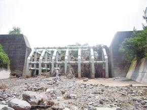 鋼製砂防堰堤、国内ニーズ高まる