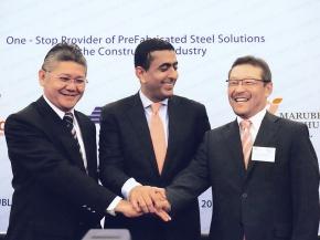伊藤忠丸紅鉄鋼、インドネシア鉄筋加工事業 KNCS設立発表式典