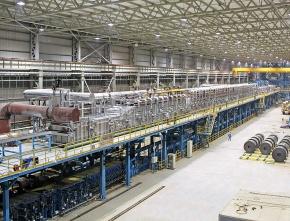 淀川製鋼、中・YSS社が稼働 高品質表面処理鋼板生産