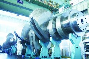 神戸製鋼が新鍛造法 船舶用クランクシャフト