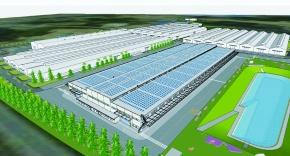 大和ハウス、竜ヶ崎工場を環境配慮型に建替え