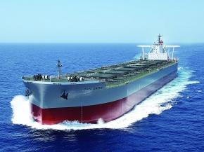JMU、次世代省エネ船を引き渡し 原料輸送用など