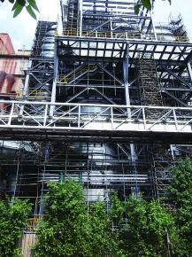 CSC・高雄4号焼結工場、高性能湿式排気脱硫装置を増設