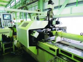 松井鋼材、機械部門・滋賀工場 大型摩擦圧接機を増設