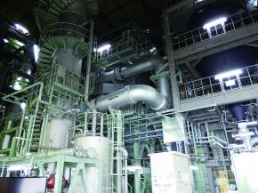 神戸製鋼、放射性物質含む下水汚泥 福島で焼却実証開始