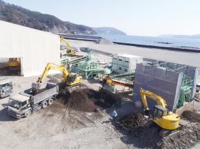 新日鉄住金・新日鉄住金エンジ、津波堆積物を建材に