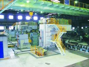 新関西製鉄、星田の圧延集約完了 コスト競争力 大幅に向上
