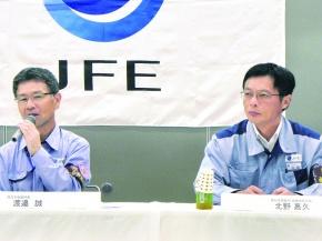 JFE西日本、13年度粗鋼2000万トン 車向け・北米輸出回復