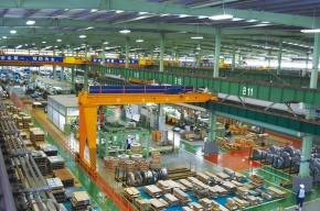 中国・日系コイルセンター、販路拡大で稼働率上昇
