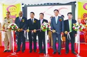 日亜鋼業が工場開所式 タイ・亜鉛めっき線合弁