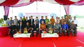 JFE、インドネシアCGL 起工式を開催