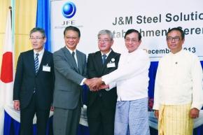 JFEエンジ、橋梁・鋼構造物 ミャンマーに合弁工場