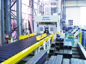 三木弘鋼材、コラム開先機更新 相生工場投資完了