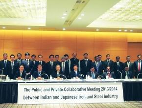 日印鉄鋼官民協力会合、省エネ技術移転具体化へ