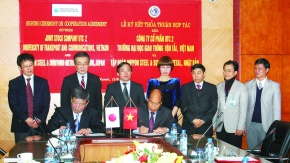 新日鉄住金、ベトナムで鋼構造普及拡大 技術コンサル企業と覚書