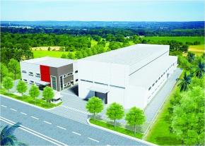 三建産業、インドネシア合弁 新工場建設に着手