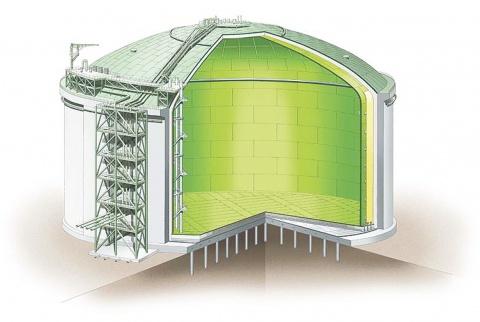 新日鉄住金の7%ニッケル鋼板 LNGタンクに採用