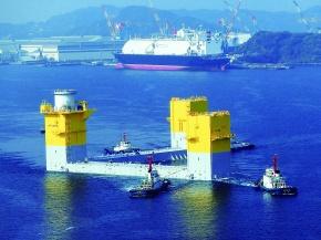 福島復興・洋上ウィンドファーム 浮体に新日鉄住金製鋼材