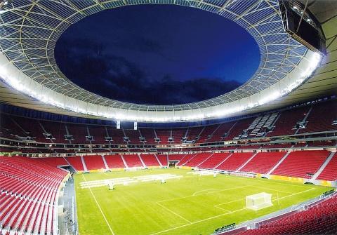 サッカーW杯ブラジル大会 太陽工業3施設でスタンド屋根建設に参画