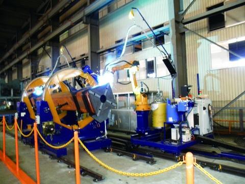 北榮興業、新ロボットシステム導入