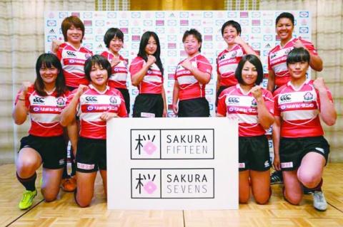 LIXIL、女子日本代表を支援 ラグビー協会と契約
