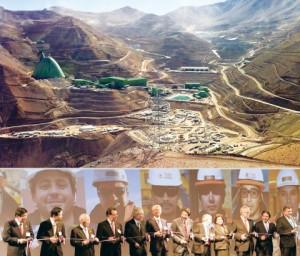 「日の丸銅鉱山」カセロネス始動 安倍首相らが祝う