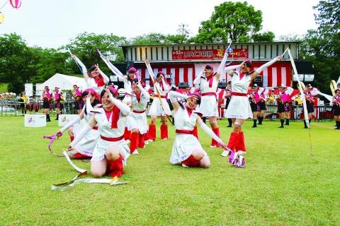 UACJ銅管 夏まつり開催 3000人が参加