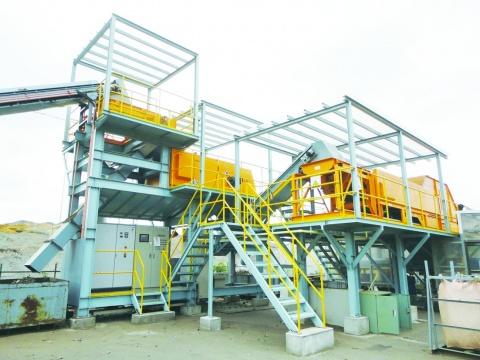 明海リサイクルセンター、高品位原料 回収可能に