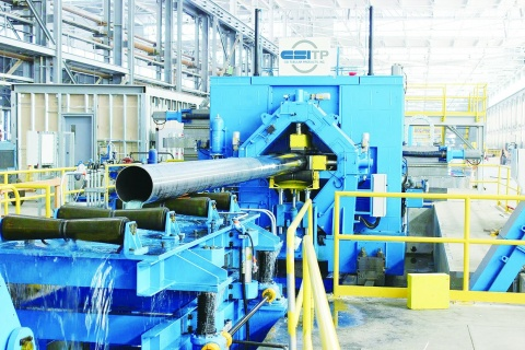 JFES、米CSI 新電縫管設備が稼働 能力2.6倍 高級化に対応