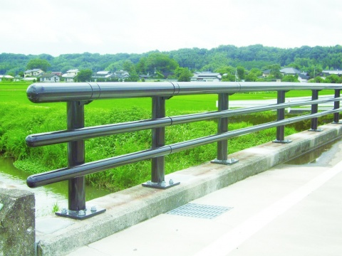 JFE建材 新防護柵、熊本で初施工