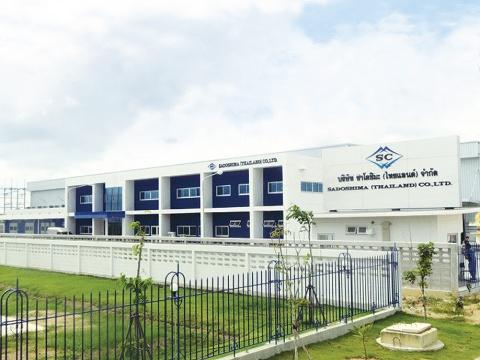佐渡島、タイのプレス工場稼働