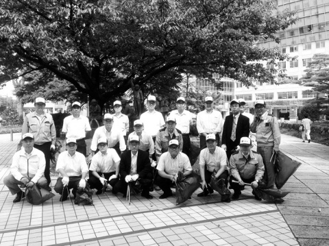 JFE北陸グループ会、富山で清掃活動