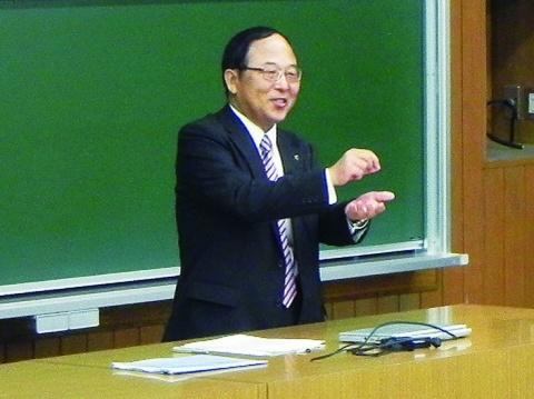 『企業幹部による大学特別講義』 浅野弘明・愛知製鋼専務 鉄づくりの魅力