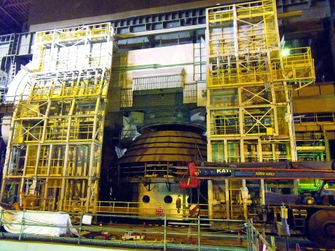 JFES西日本製鉄所福山地区、転炉増設工事が順調