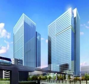 三井不動産・三菱地所、田町駅に大型複合施設 事務所など30万平方メートル規模