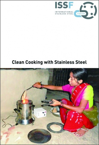 ISSFパンフレット出版 Clean CooKing with Stainless Steel