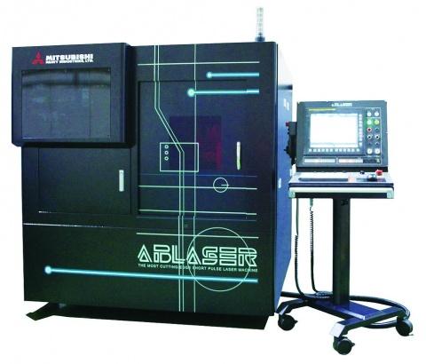 三菱重工、微細レーザー加工機開発