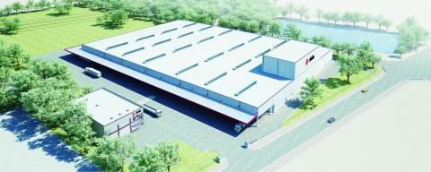 岡部、茨城工場を新設 65億円投資