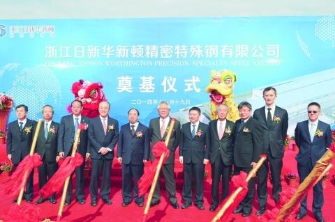 日新製鋼、中国の特殊鋼鋼板拠点 16年夏稼働へ建設着手