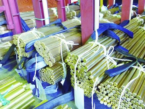 黄銅棒生産、10月改善 需要見通し まだら模様