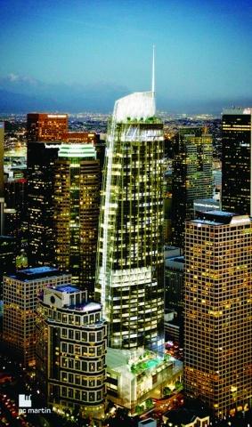 新日鉄住金エンジ、米でUBB供給順調 ロスの超高層ビル向け