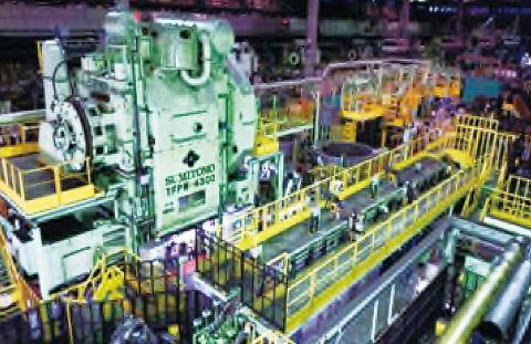 愛知製鋼、4500トン鍛造プレス4月稼働