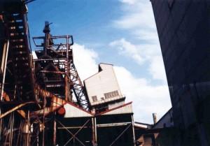 神戸製鉄所では高炉の操業がストップ