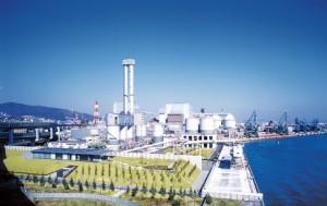 神戸製鋼・神戸製鉄所・IPP全景