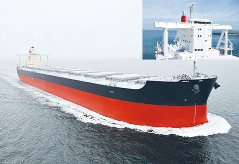 新日鉄住金、高延性造船用鋼板、バラ積み船に採用