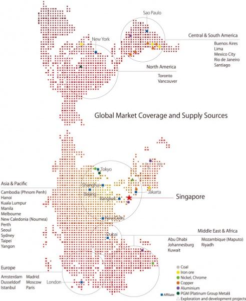 三菱商事、アジアで鉄鋼原料拡販