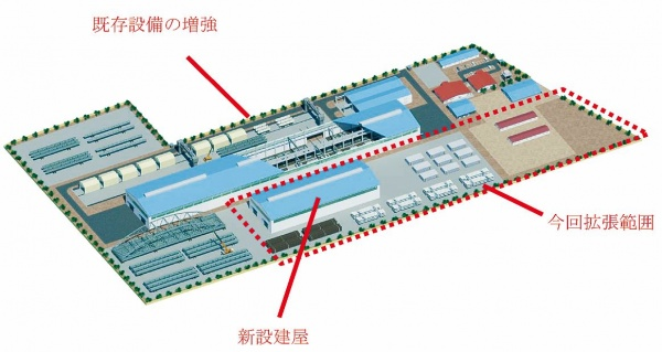 JFEエンジ、J&Mスチールソリューションズ 生産能力5割増強 鋼構造物製作 年3万トン体制に