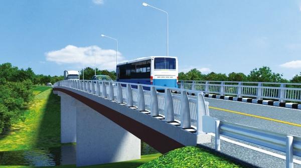 JFEエンジ、橋梁改修工事を受注 ラオス国道9号線