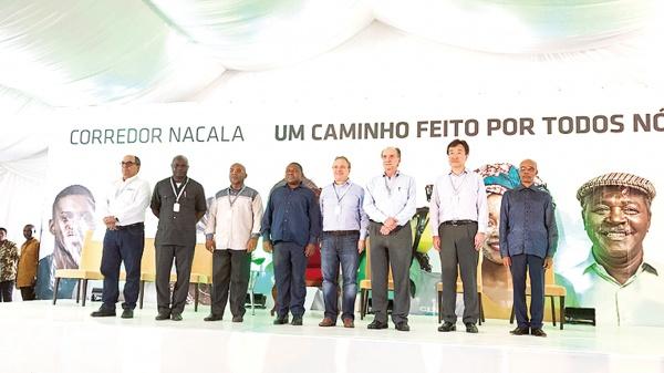三井物産、インフラ開業式開く モザンビーク原料炭鉱